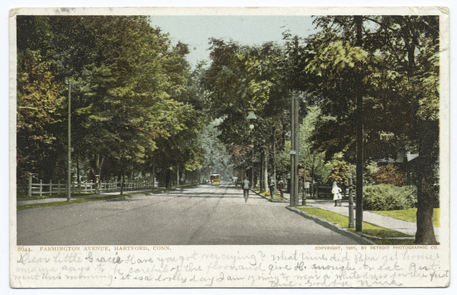 Farmington Avenue, Hartford, Conn.