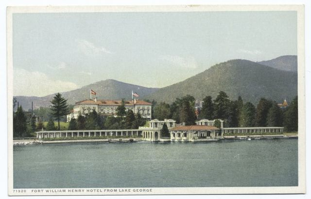 Fort William Henry Hotel from, Lake George, N. Y.