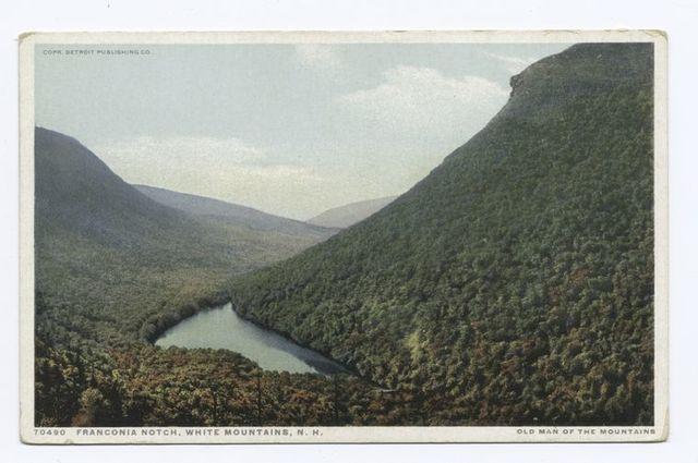 Franconia Mountains, New Hampshire