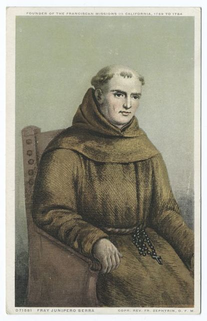 Fray Junipero Serra, Portrait
