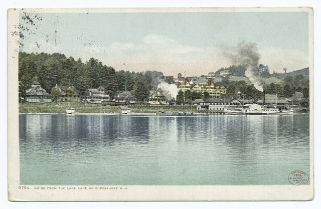 From the Lake, Weirs, Lake Winnipesaukee, N. H.
