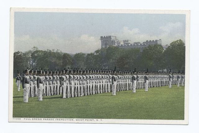 Full Dress Parade Inspection, West Point, N. Y.