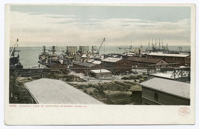 General View, Shipyard, Newport News, Va.