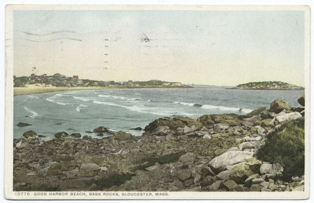 Good Harbor Beach, Bass Rocks, Gloucester, Mass.