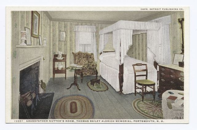 Grandfather Nutter's Room, Thomas Bailey Aldrich Memorial, Portsmouth, N. H.