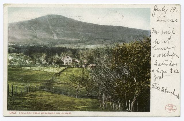 Greylock from Berkshire Hills, Berkshire Hills, Mass.