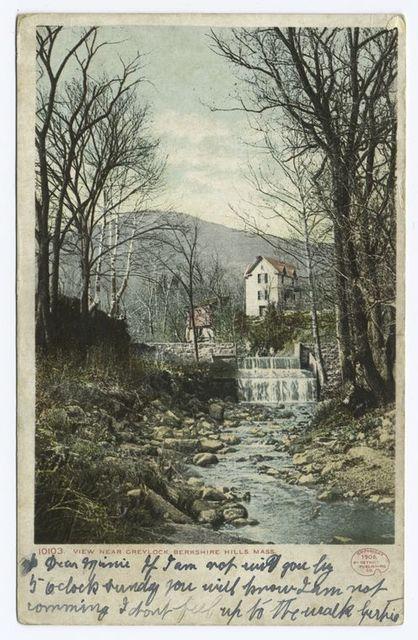 Greylock, view near, Berkshire Hills, Mass.