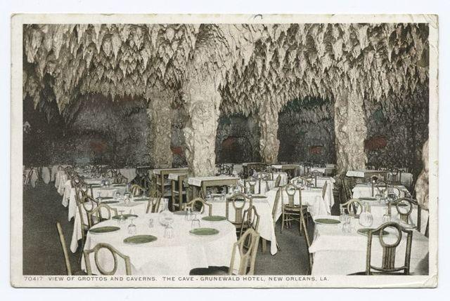Grottos, Caverns, Grunewald Hotel, New Orleans, La.