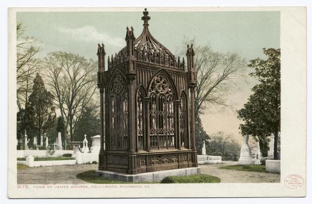 Hollywood Tomb of James Monroe, Richmond, Va.