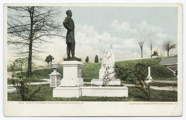 Hollywood Tomb of Jefferson Davis, Richmond, Va.