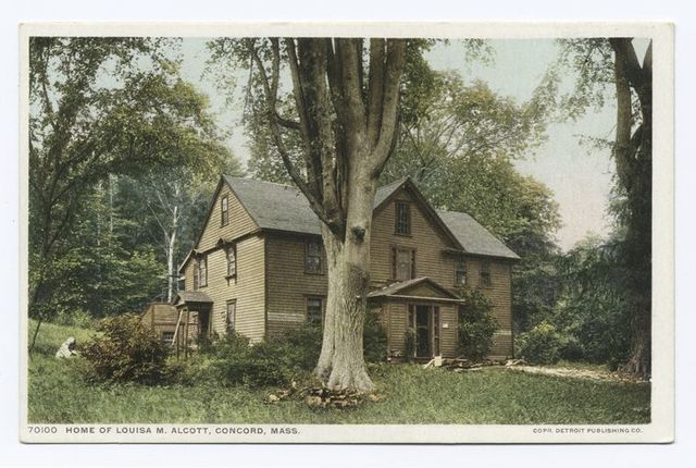 Home of Louisa M. Alcott, Concord, Mass.