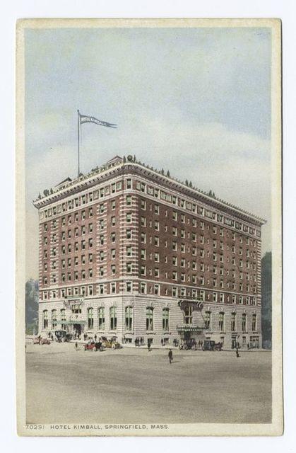 Hotel Kimball, Springfield, Mass.