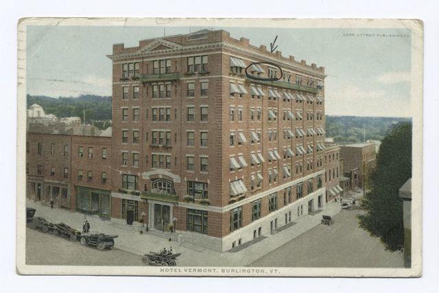 Hotel Vermont, Burlington, VT.