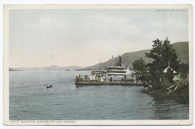 Hulett Landing, Lake George, N. Y.