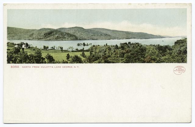 Hulett's, Looking North, Lake George, N. Y.