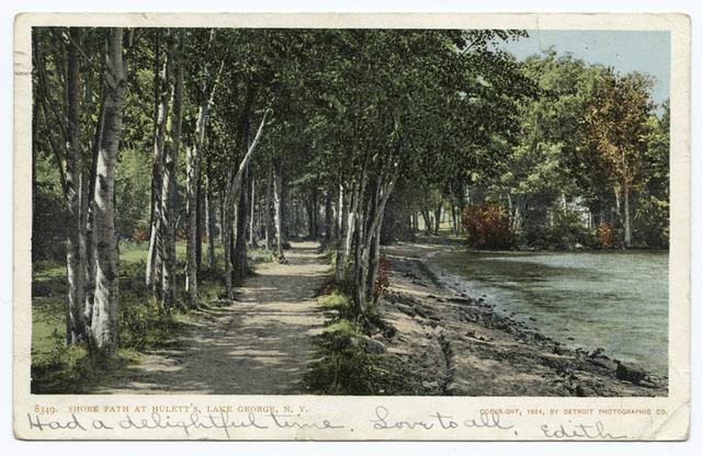 Huletts, Shore Path, Lake George, N. Y.