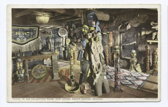 In the Collection Room, Hopi House, Grand Canyon, Ariz.