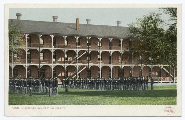 Inspection Day, Fort Monroe, Old Point Comfort, Va.