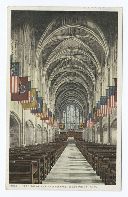 Interior of the Chapel, West Point, N. Y.
