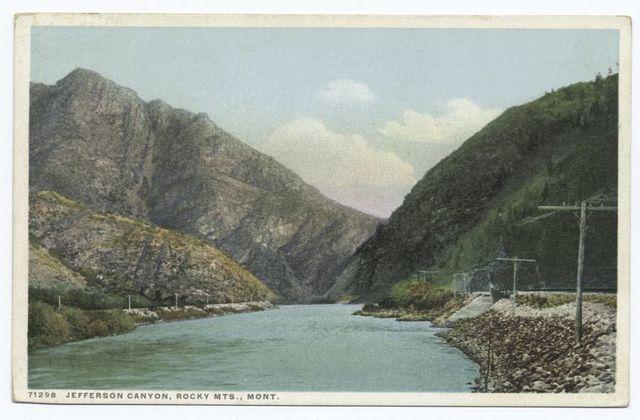 Jefferson Canyon, Rocky Mountains, Montana
