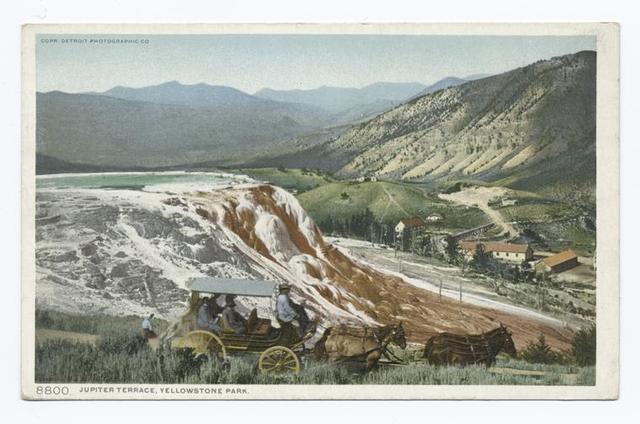 Jupiter Terrace, Mammoth Spring, Yellowstone Ntl. Park, Wyo.