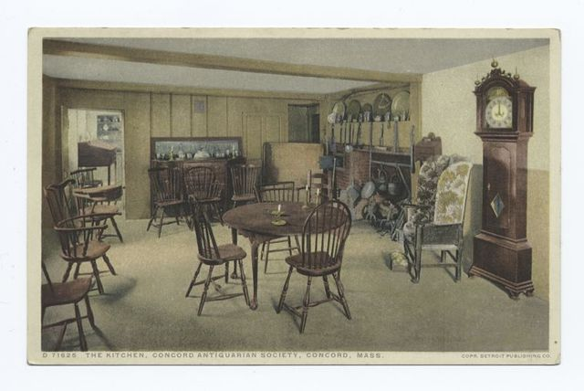 Kitchen, Concord Antiquarian Society, Concord, Mass.