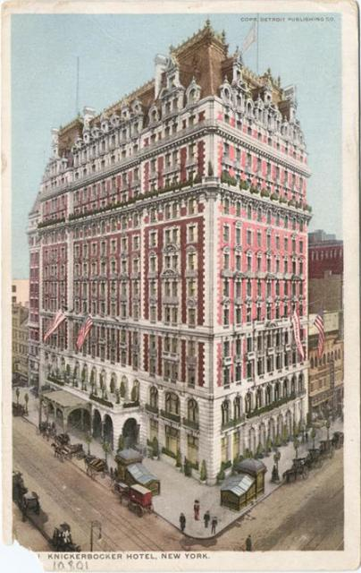 Knickerbocker Hotel, New York, N. Y.