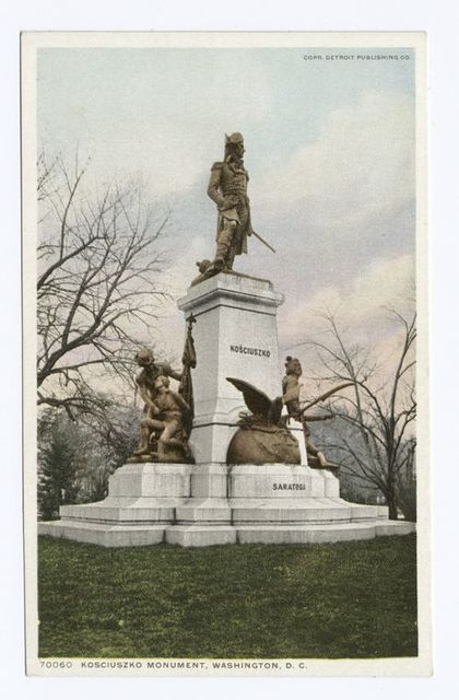 Kosciuszko Monument, Washington, D. C.