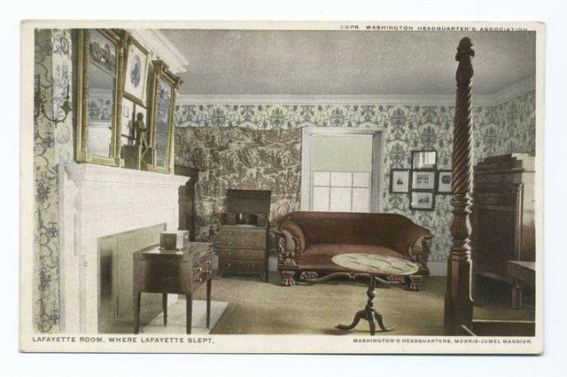 Lafayette Room, Where Lafayette Slept, Washington's Headquarters, Morris-Jumel Mansion
