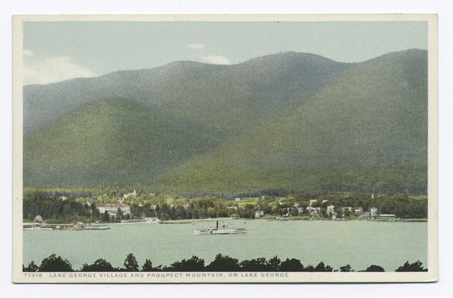 Lake George Village and Prospect Mountain, Lake George, N. Y.