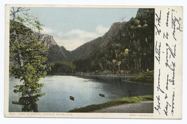 Lake Glorietta, Dixville Notch, N. H.