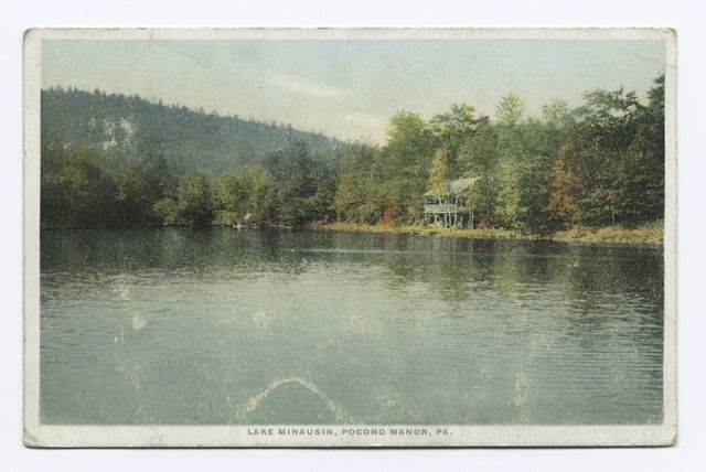 Lake Minausin, Pocono Manor, PA.