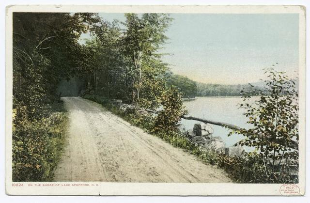Lake Spofford (On the Shore), Chesterfield, N. H.