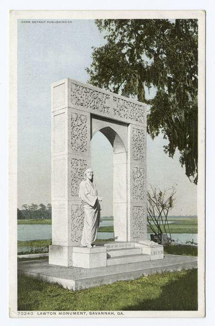 Lawton Monument, Savannah, Ga.