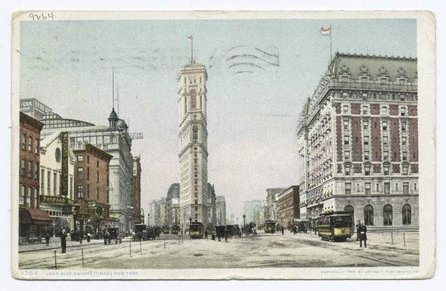 Longacre, Square (Times Square), New York, N. Y.