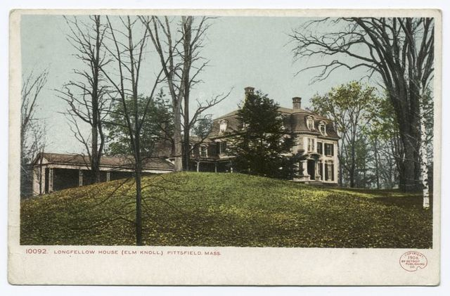 Longfellow House, Elm Knoll, Pittsfield, Mass.