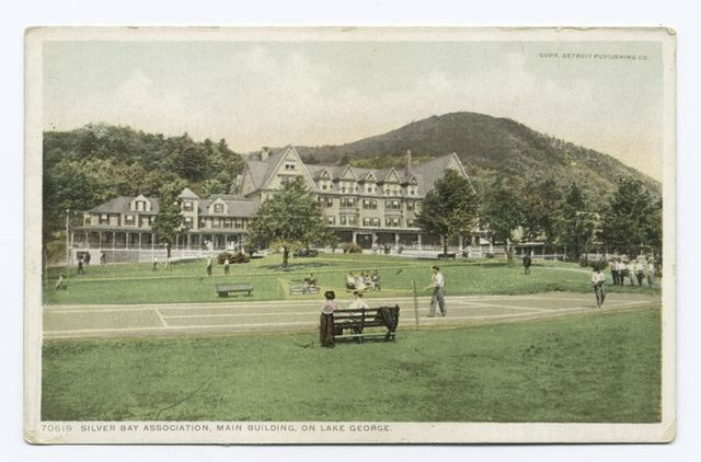Main Building, Silver Bay, Lake George, N. Y.
