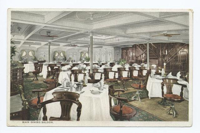 Main Dining Saloon, Ships