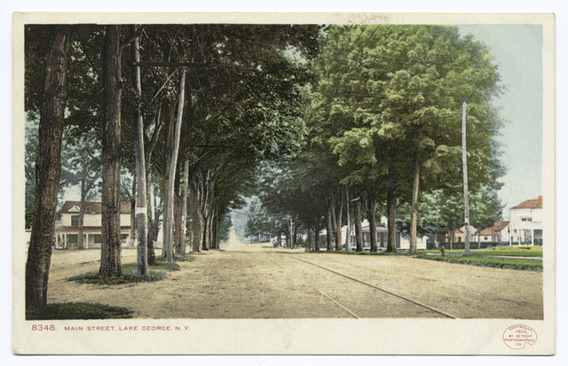 Main Street, Lake George, N. Y.