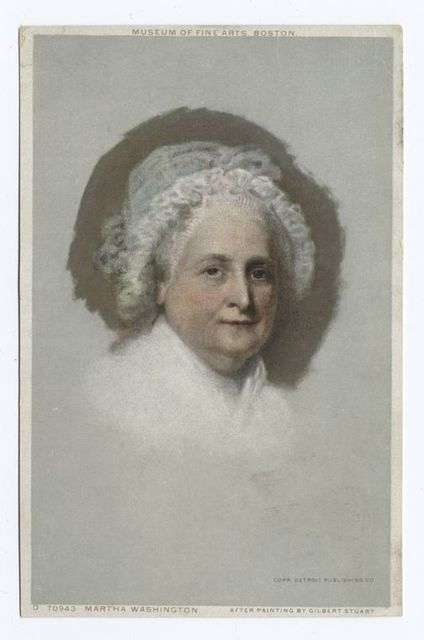 Martha Washington, Portrait