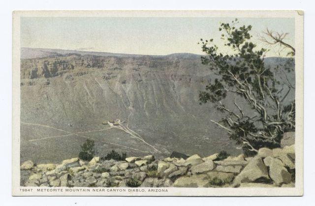 Meteorite Mountain near Canyon Diablo, Arizona
