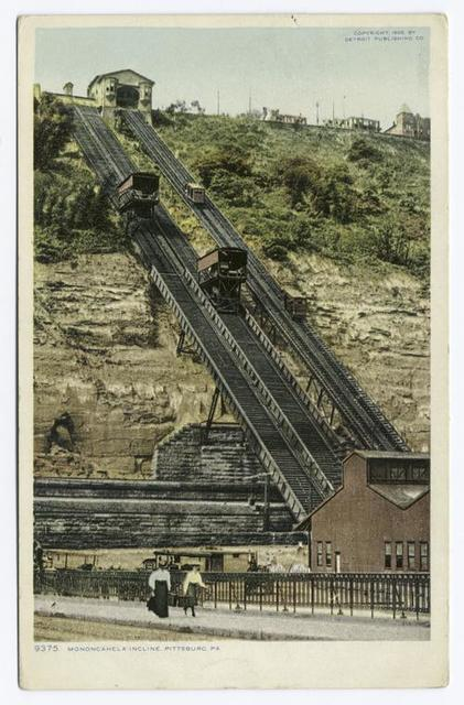 Monongahela Incline, Pittsburgh, Pa.