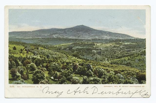 Mt. Monadnock, Monadnock, N. H.