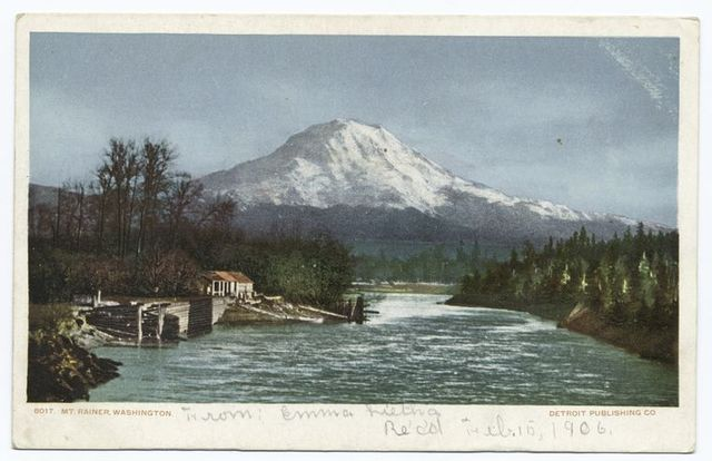 Mt. Rainier (or Mt. Tacoma), Seatle, Wash.