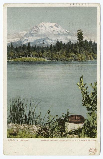 Mt. Tacoma (or Mt. Rainier), Tacoma, Wash.