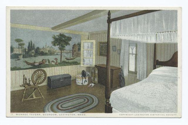 Munroe Tavern Bedroom, Lexington, Mass.