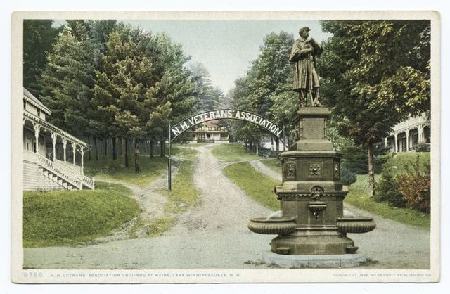 N. H. Veterans Assn. Grounds, Weirs, Lake Winnipesaukee, N. H.