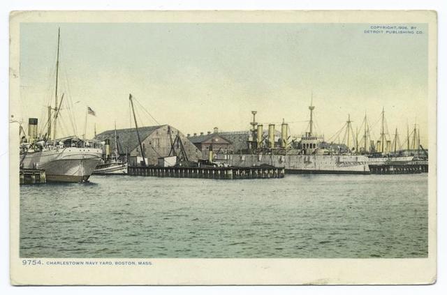 Navy Yard, Charlestown, Mass.