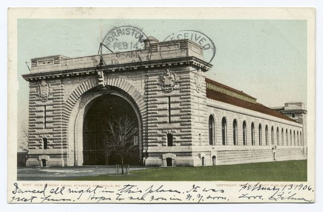 New Armory, U. S. Naval Academy, Anapolis, Md.