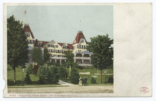 New Hotel Weirs, Weirs, Lake Winnipesaukee, N. H.